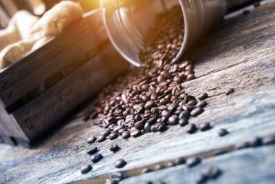 Papiers peints Grains de café dans le seau