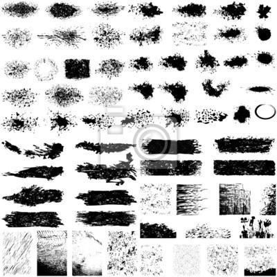 Papiers peints Grand jeu de textures grunge