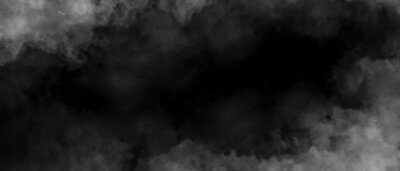 Papiers peints Gray smoke on black color abstract watercolor background