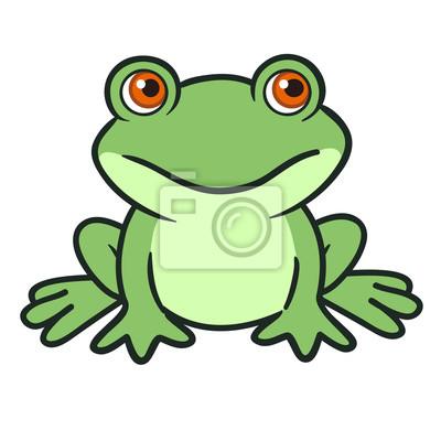 Crapaud Dessin grenouille dessin animée papier peint • papiers peints amphibie