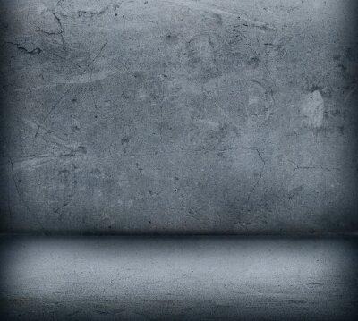 Papiers peints Gris, béton, mur, plancher, fin, haut
