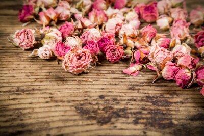 Papiers peints Gros plan, séché, roses, bois, fond