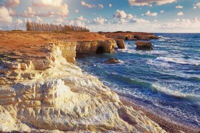 Papiers peints Grottes de mer. Chypre