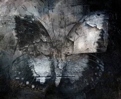 Papiers peints grunge abstract butterfly texture