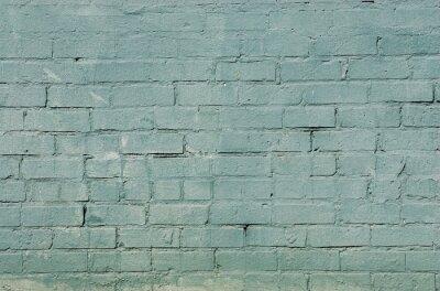 Papiers peints Grunge, brique, mur, fond, bleu, couleur