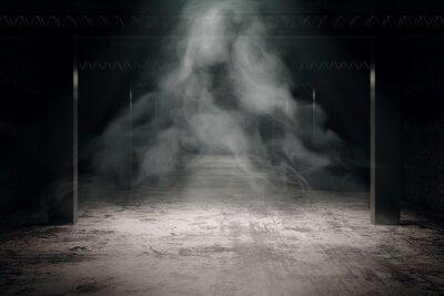 Papiers peints Grungy dark interior