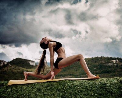 Papiers peints Guerrier pose de yoga