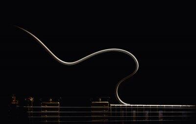 Papiers peints Guitare électrique abstraite