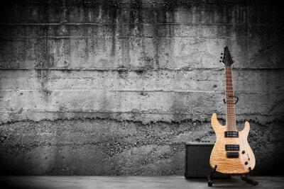 Papiers peints Guitare électrique moderne