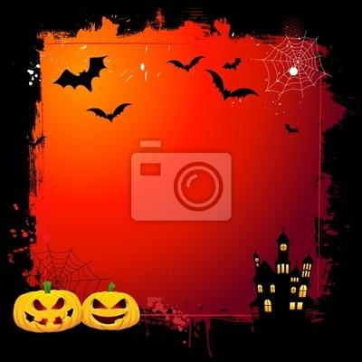Halloween grunge fond