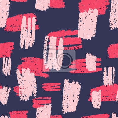 Hand Drawn Abstract Textures Seamless Pattern