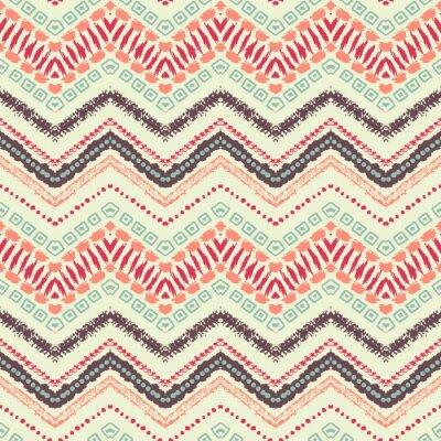 Papiers peints Hand Drawn peint seamless pattern. Vector illustration