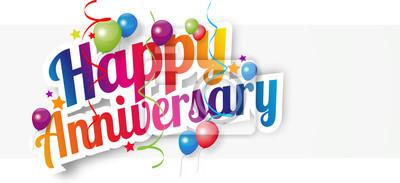 Papiers peints Happy anniversary