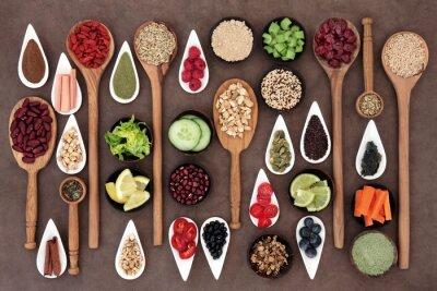 Papiers peints Health Food Sampler