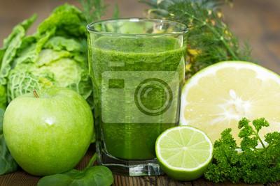 Healthy smoothie vert