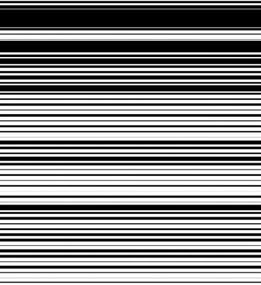 Papiers peints Hétéro, lignes horizontales motif d'épaisseur aléatoire. Noir