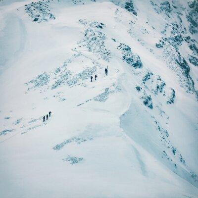 Papiers peints Hiver, paysage, élevé, neigeux, montagnes