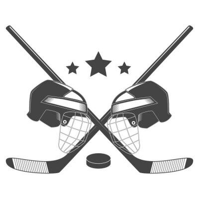 Papiers peints Hockey concurrence chempionship vecteur logo