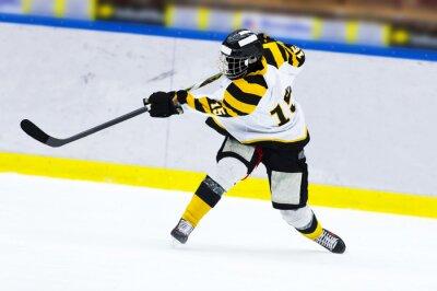Papiers peints Hockey, hockey, joueur, slap, coup