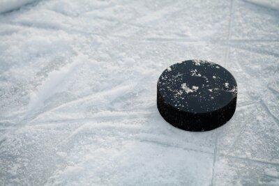 Papiers peints Hockey, rondelle, glace, hockey, patinoire