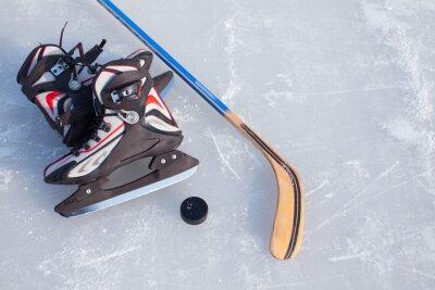 Papiers peints Hockey sur glace.