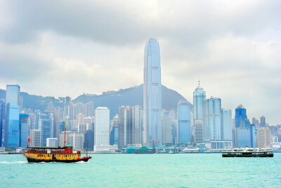 Papiers peints Hong Kong ferry