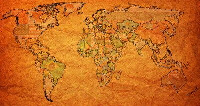 Papiers peints hongrie territoire sur la carte du monde