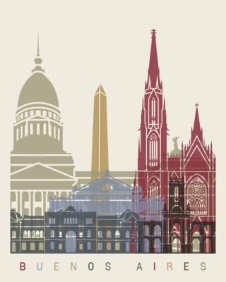 Papiers peints Horizon de Buenos Aires affiche
