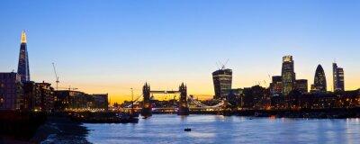 Papiers peints Horizon de Londres panoramique