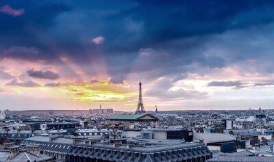 Papiers peints Horizon de Paris. Architectural, ville, détail