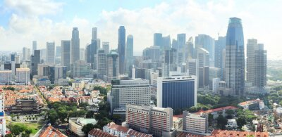 Papiers peints Horizon de Singapour