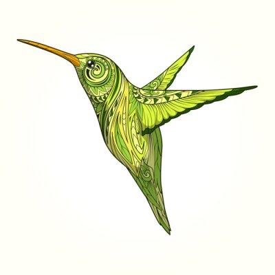 Papiers peints Hummingbird, résumé, Ornement, vecteur