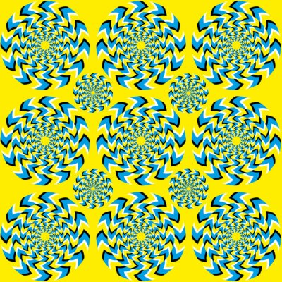 Papiers peints Hypnotique de rotation