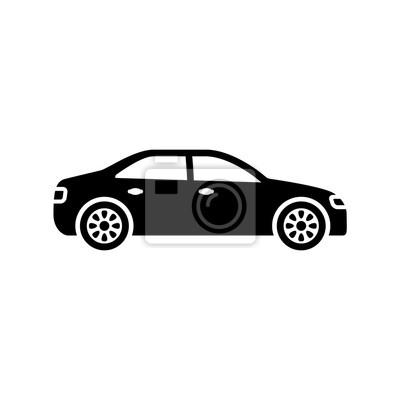 Voiture noir et blanc - Dessin voiture stylisee ...