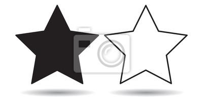 Icone Etoile Noir Papier Peint Papiers Peints Pictogramme