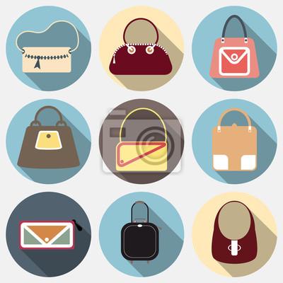 Icônes de la mode forfaitaire prévu collection de sacs des femmes et des hommes sacs à main