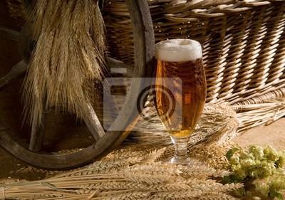 idylle mit Bier