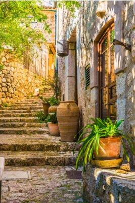 Papiers peints Idyllique, vue, méditerranéen, rustique, maison, pierre ...