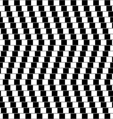 Papiers peints illusion d'optique