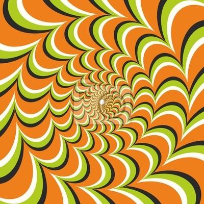 illusion doptique ellipse dorange papier peint papiers peints optique impression ellipse. Black Bedroom Furniture Sets. Home Design Ideas
