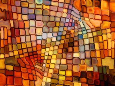 Papiers peints Illusion du Vitrail