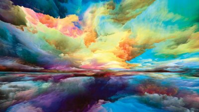 Papiers peints Illusion of Land and Sky