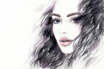 Papiers peints Illustration de mode