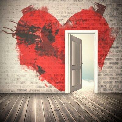 Papiers peints Image composite de coeur