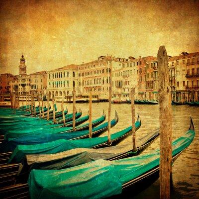 Papiers peints Image de cru de Grand Canal, Venise