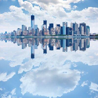Papiers peints Image panoramique de Manhattan skyline