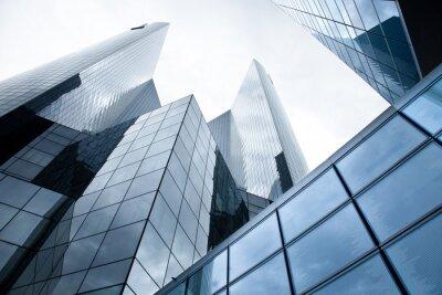 Papiers peints Immeubles de grande hauteur - banques