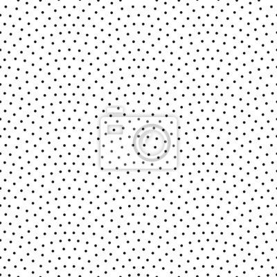 Impression de fond abstrait confetti Design rétro sans soudure de vecteur avec des points noirs linéaires arc ou des échelles sur blanc