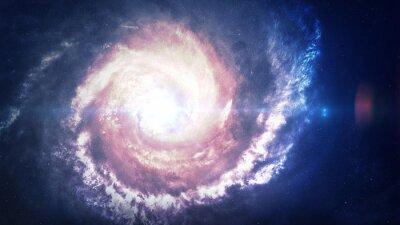 Papiers peints Incroyablement belle galaxie spirale quelque part dans l'espace profond. Éléments de cette image fournis par la NASA
