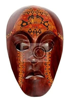 indonésien masque en bois